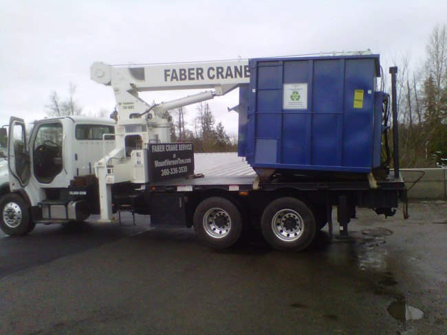 Moving Container | Faber Crane
