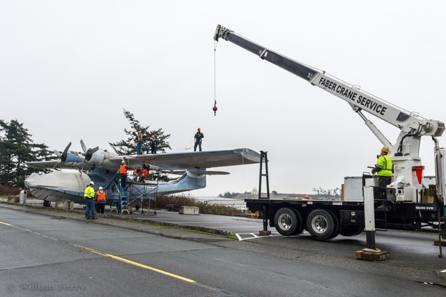 Readying The PBY | Faber Crane image #8